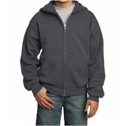 Port Authority | Port & Company YOUTH Full-Zip Hooded Sweatshirt