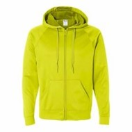 Jerzees | JERZEES Sport Tech Fleece Full Zip Sweatshirt
