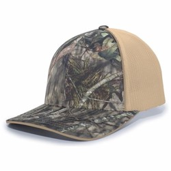 Pacific Headwear | CAMO TRUCKER FLEXFIT CAP