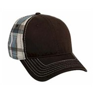 Outdoor Cap | Outdoor Cap Plaid Fabric Cap