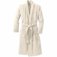 Port Authority | Checkered Terry Shawl Collar Robe
