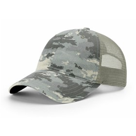 Richardson Garment Washed Camo Trucker Cap
