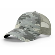 Richardson | Garment Washed Camo Trucker Cap