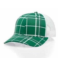 Richardson | Richardson Plaid Twill Mesh Back Cap