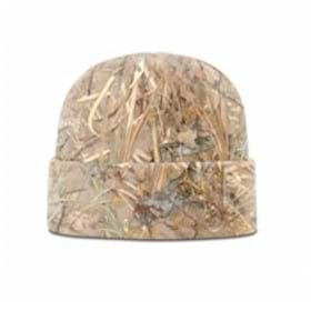 Richardson King's Camo Microfleece Beanie W/ Cuff