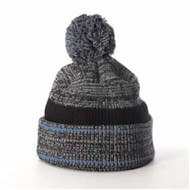 Richardson | Richardson Heathered Knit w/ Cuff & Pom Beanie