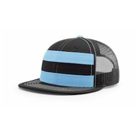 Richardson Striped Trucker Flatbill Cap