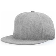 Richardson | Richardson Wool Flatbill Leather Strapback
