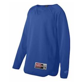 RAWLINGS YOUTH L/S Flatback Mesh Pullover