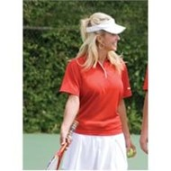 REEBOK | Reebok LADIES PLAYDRY Horizontal Texture Polo