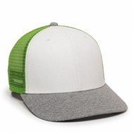 Outdoor Cap | Outdoor Cap Heather Visor Ranger Cap