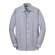 Red House | Red House Tricolor Check Slim Fit Non-Iron Shirt