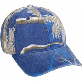 Outdoor Cap Washed Realtree APC Colored Cap