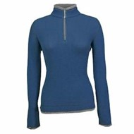 Storm Creek | Storm Creek LADIES' Waffle Knit 1/4 Zip Pullover