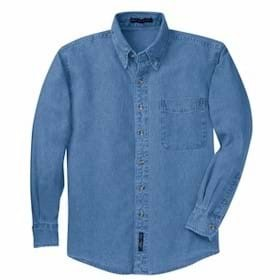 L/S Port Auth Denim Shirt