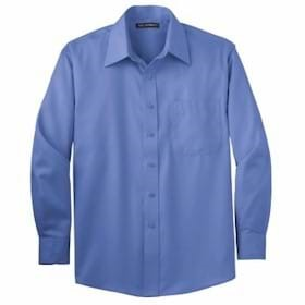 L/S Port Authority Non-Iron Twill Shirt