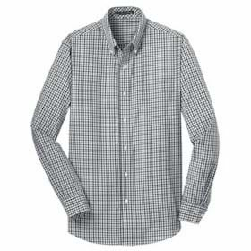 Port Authority L/S Gingham Easy Care Shirt