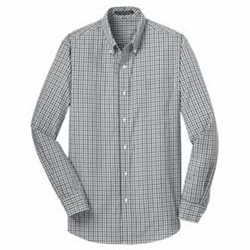 Port Authority | Port Authority L/S Gingham Easy Care Shirt
