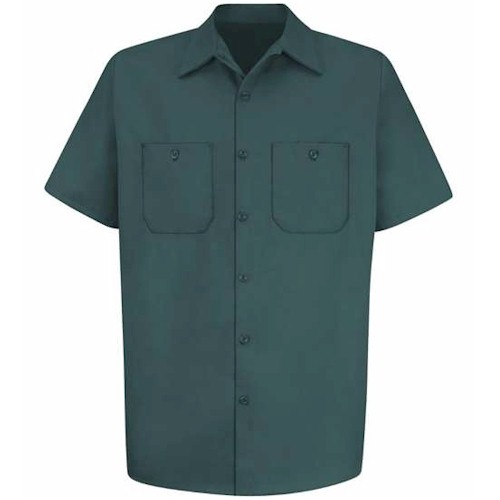 Red Kap Short Sleeve Uniform Shirt