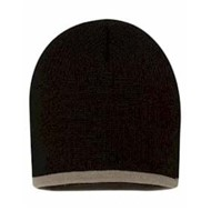 "Sportsman | 8"" Bottom Stripe Knit Cap"