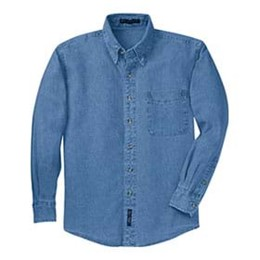 Port Authority | L/S P&C Value Denim Shirt