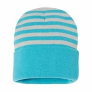 "Sportsman | Sportsman 12"" Striped Knit Beanie"