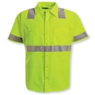 LiteFX | LiteFX High Visibility Safety S/S Work Shirt