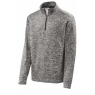 Sport-tek | Sport-Tek PosiCharge Heather Fleece 1/4 Zip