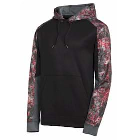 Sport-Tek® Wicking Mineral Freeze  Colorblk Hoodie