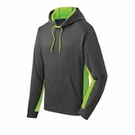 Sport-tek | Sport-Tek Fleece Colorblock Hooded Pullover