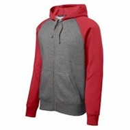Sport-tek | Sport-Tek Raglan Colorblock Hooded Fleece Jacket