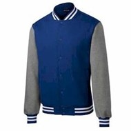 Sport-tek | Sport-Tek Fleece Letterman Jacket