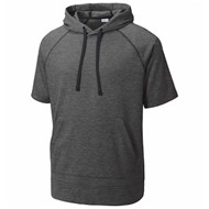Sport-tek | SportTek Wicking Fleece SS Hooded Pullover