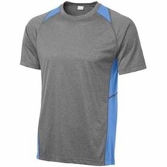Sport-tek | Heather Colorblock Contender Tee