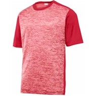Sport-tek | Sport-Tek® PosiCharge® Electric Htr Colorblock Tee
