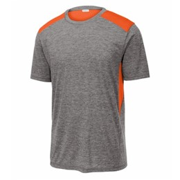 Sport-tek | Sport-Tek PosiCharge Tri-Blend Wicking Draft Tee