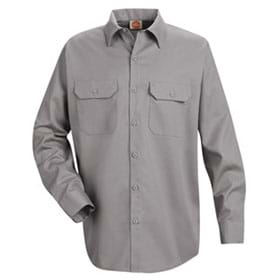 Red Kap Utility Long Sleeve Work Shirt
