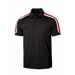 Sport-tek | Sport-Tek Tricolor Shoulder Micropique Polo