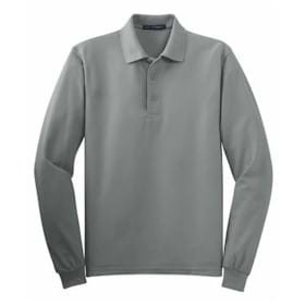 Port Authority TALL L/S Silk Touch Polo