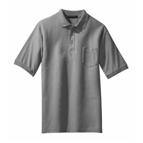 Port Authority® Tall Silk Touch™ Polo with Pocket