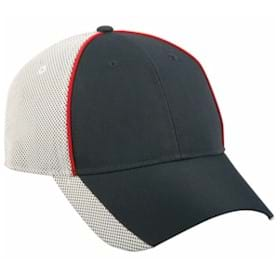 Outdoor Cap Pearl Nylon Cap with Mesh Back Panels