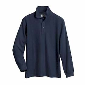 Tri-Mountain Enterprise L/S Easy Care Knit Shirt