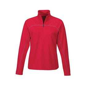 Tri-Mountain LADIES' Rhythm 1/4-Zip Pullover Shirt