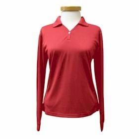 L/S Tri-Mountain LADIES' Eclipse Golf Shirt