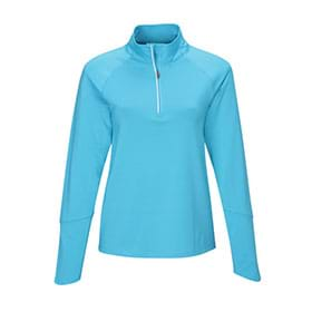 Tri-Mountain Lady Hyperion 1/4-Zip Pullover Shirt