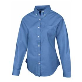 Tri-Mountain Ladies TALL Echo L/S Oxford