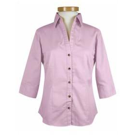 Tri-Mountain 3/4 Sleeves LADIES Affinity Shirt