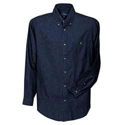 Tri-Mountain | L/S Tri-Mountain Pioneer Denim Shirt