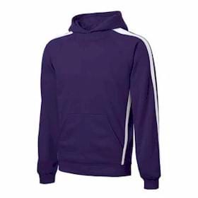Sport-Tek TALL Sleeve Stripe Hooded Sweatshirt