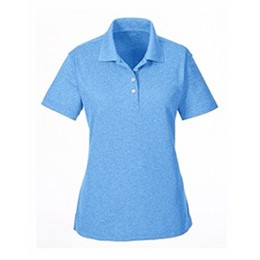 Ultra Club | UltraClub Ladies' Heathered Piqué Polo